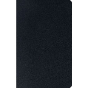 ESV Thinline Reference Bible (Black) - Genuine Leather With ribbon marker(s)