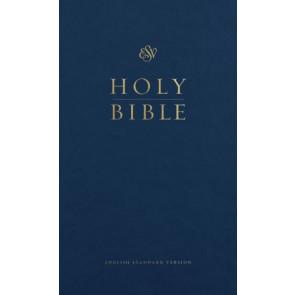 ESV Pew Bible (Blue) - Hardcover