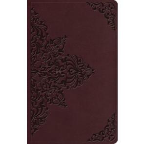 ESV Value Thinline Bible (TruTone, Chestnut, Filigree Design) - Imitation Leather