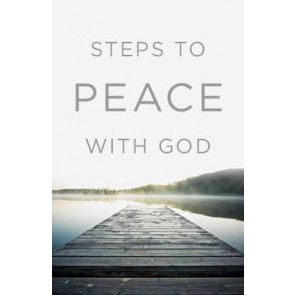 Steps to Peace with God - 25 Pack - Pamphlet