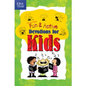 The One Year Fun & Active Devotions for Kids - Softcover / softback