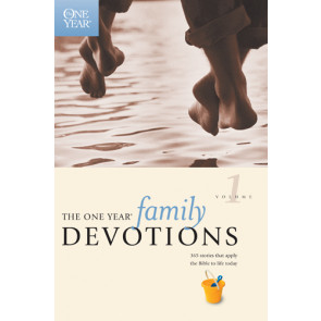 The One Year Family Devotions Volume 1 - Softcover / softback