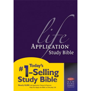 NKJV Life Application Study Bible, Second Edition (Red Letter, Hardcover) - Hardcover
