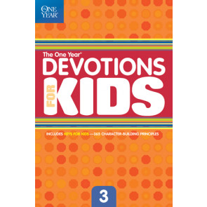 The One Year Devotions for Kids #3 - Softcover / softback
