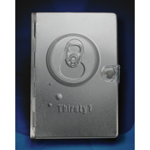 Metal Bible NLT: Silver Thirsty  - Other book format Silver