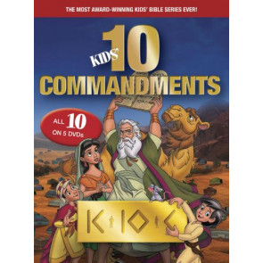Kids Ten Commandments The Complete Collection - DVD video