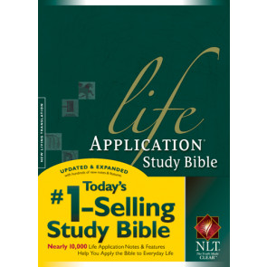 NLT Life Application Study Bible, Second Edition (Red Letter, Hardcover) - Hardcover With printed dust jacket