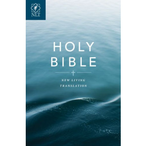Gift and Award Bible NLT (Softcover, Blue) - Softcover Blue