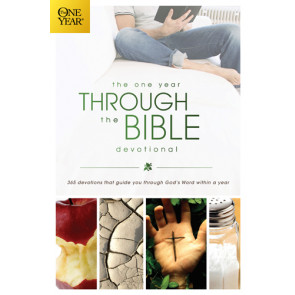 The One Year Through the Bible Devotional - Softcover / softback