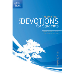 The One Year Alive Devotions for Students - Softcover / softback