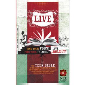 Live NLT (Hardcover) - Hardcover