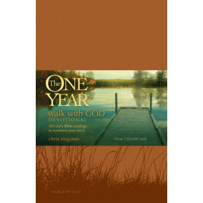 The One Year Walk with God Devotional - LeatherLike