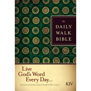 The Daily Walk Bible KJV (Softcover) - Softcover