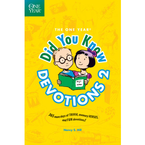 The One Year Did You Know Devotions 2 - Softcover