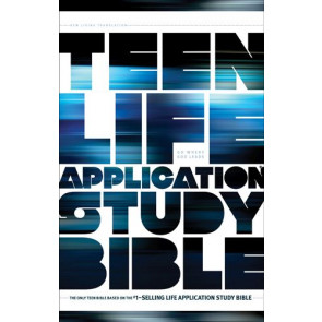 NLT Teen Life Application Study Bible (Hardcover) - Hardcover