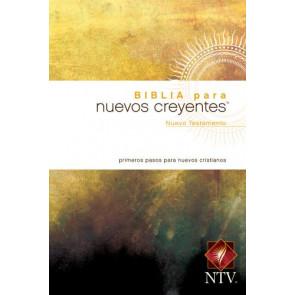 Biblia para nuevos creyentes Nuevo Testamento NTV (Tapa rústica) - Softcover