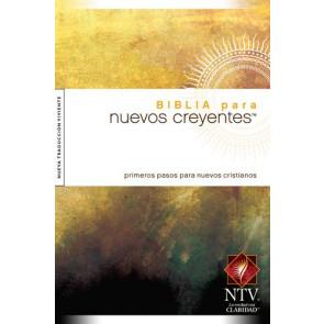 Biblia para nuevos creyentes NTV (Tapa dura) - Hardcover