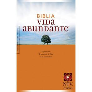 Biblia Vida abundante NTV (Tapa rústica) - Softcover