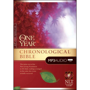 The One Year Chronological Bible NLT, MP3 (Audio CD) - CD-Audio