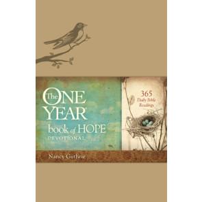 The One Year Book of Hope Devotional - LeatherLike