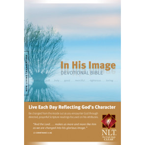 In His Image Devotional Bible NLT (Softcover) - Softcover / softback