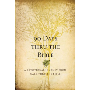 90 Days Thru the Bible - Softcover