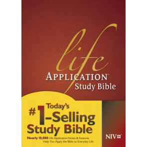 NIV Life Application Study Bible, Second Edition (Red Letter, Hardcover) - Hardcover With printed dust jacket
