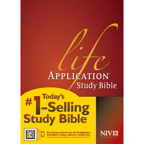 NIV Life Application Study Bible, Second Edition (Red Letter, Hardcover, Indexed) - Hardcover With printed dust jacket and thumb index