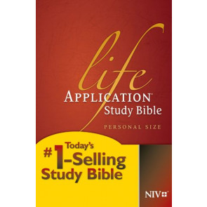 NIV Life Application Study Bible, Second Edition, Personal Size (Softcover) - Softcover