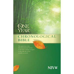 The One Year Chronological Bible NIV (Softcover) - Softcover