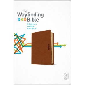 The Wayfinding Bible NLT (LeatherLike, Brown) - LeatherLike Brown With ribbon marker(s)