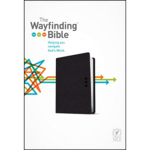 The Wayfinding Bible NLT (LeatherLike, Black) - LeatherLike Black With ribbon marker(s)