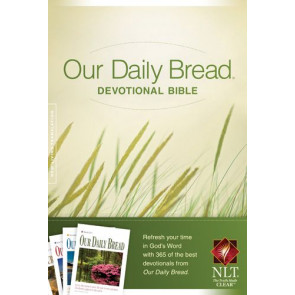 Our Daily Bread Devotional Bible NLT (Hardcover) - Hardcover