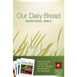 Our Daily Bread Devotional Bible NLT (Softcover) - Softcover