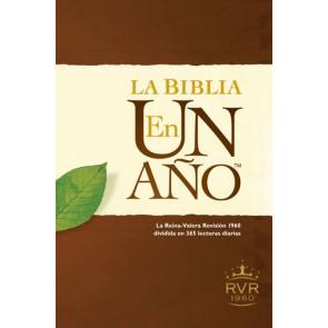 La Biblia en un año RVR60 (Tapa dura) - Hardcover