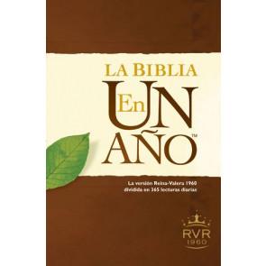 La Biblia en un año RVR60 (Tapa rústica) - Softcover