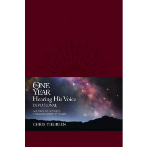 The One Year Hearing His Voice Devotional - LeatherLike