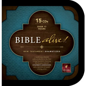 Bible Alive! New Testament (Audio CD, Black) - CD-Audio Black With zip fastener