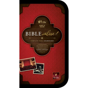 Bible Alive! (Audio CD, Black) - CD-Audio Black With zip fastener