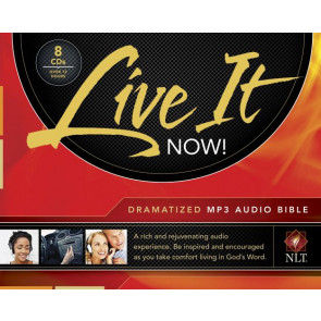 Live It Now! Dramatized Audio Bible, MP3 (Audio CD) - CD-Audio