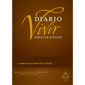 Biblia de estudio Diario vivir RVR60 - Hardcover With thumb index