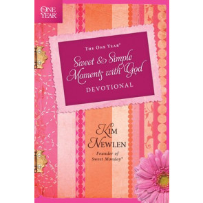 The One Year Sweet and Simple Moments with God Devotional - Softcover