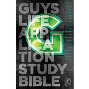 NLT Guys Life Application Study Bible (Hardcover) - Hardcover