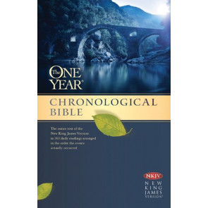 The One Year Chronological Bible NKJV (Softcover) - Softcover