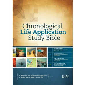 KJV Chronological Life Application Study Bible (Hardcover) - Hardcover