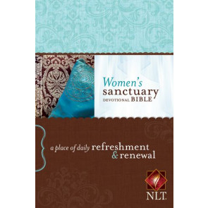 Women's Sanctuary Devotional Bible NLT (Hardcover) - Hardcover