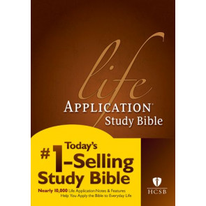 HCSB Life Application Study Bible, Second Edition (Red Letter, Hardcover) - Hardcover