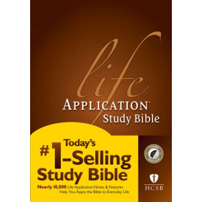 HCSB Life Application Study Bible, Second Edition  - Hardcover With thumb index