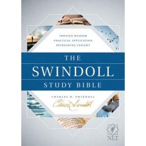 The Swindoll Study Bible NLT  - Hardcover