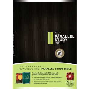 NLT Parallel Study Bible  - Hardcover With thumb index